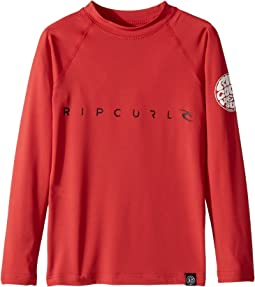 Rip Curl Kids Dawn Patrol UV Tee Long Sleeve (Big Kids)