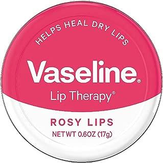 Vaseline Lip Therapy Lip Balm Tin, Rosy Lips, 0.6 oz