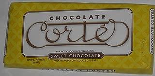 Chocolate Cortes Sweet Chocolate 7 Oz 198g