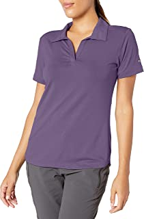 Women's Essential Elements Polo Shirt, Sun Protection,...
