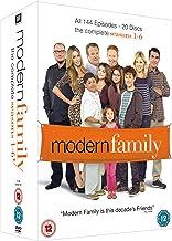 Modern Family - Complete Seasons 1-6 (3 Dvd) [Edizione: Regno Unito] [Reino Unido]