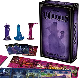 Ravensburger Disney Villainous Wicked to The Core - Strategy Game for Kids & Adults Age 10 Years and Up - Can Be Played as...