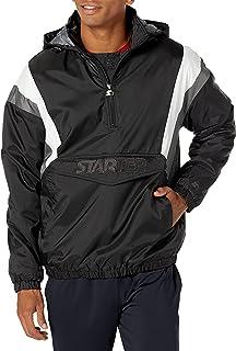 Starter Men's Throwback Half-Zip Pullover Jacket, Amazon Exclusive