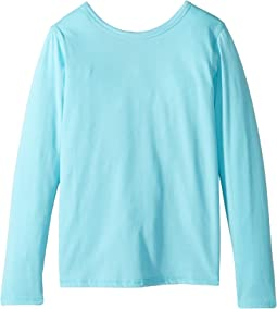4Ward Clothing Long Sleeve Scoop Jersey Top - Reversible Front/Back (Little Kids/Big Kids)