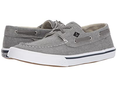 Sperry Bahama II Boat Washed Sneaker (Grey) Men