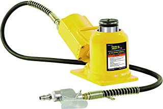 ESCO 10399 Yellow Jackit Air Hydraulic Bottle Jack, 20 Ton Capacity, 10.25 Inch Height 14 Inches Height