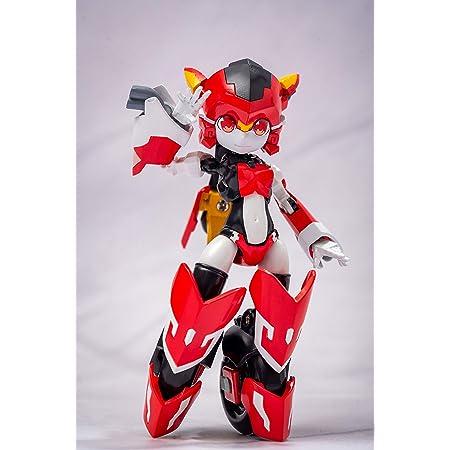 魔姫変形シリーズ 疾速紅音(スカーレットソニック) 塗装済み完成品可動フィギュア