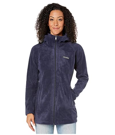 Columbia Benton Springstm II Long Hoodie (Dark Nocturnal) Women