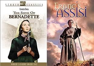Saints Collection 2-DVD Bundle - The Song of Bernadette & Francis of Assisi 2-Movie Bundle
