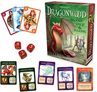 Gamewright CSG-DRAGONW Dragonwood Card Game