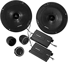 "Kicker 46CSS654 Car Audio 6 1/2"" Component Full Range Stereo Speakers Set CSS65"