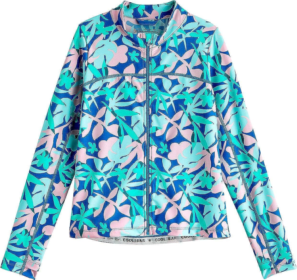 Coolibar UPF 50+ Kid's Turtle Bay Swim Jacket - Sun Protective