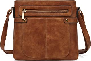 Medium Size Pocket Crossbody Bag Purse Modern Classic