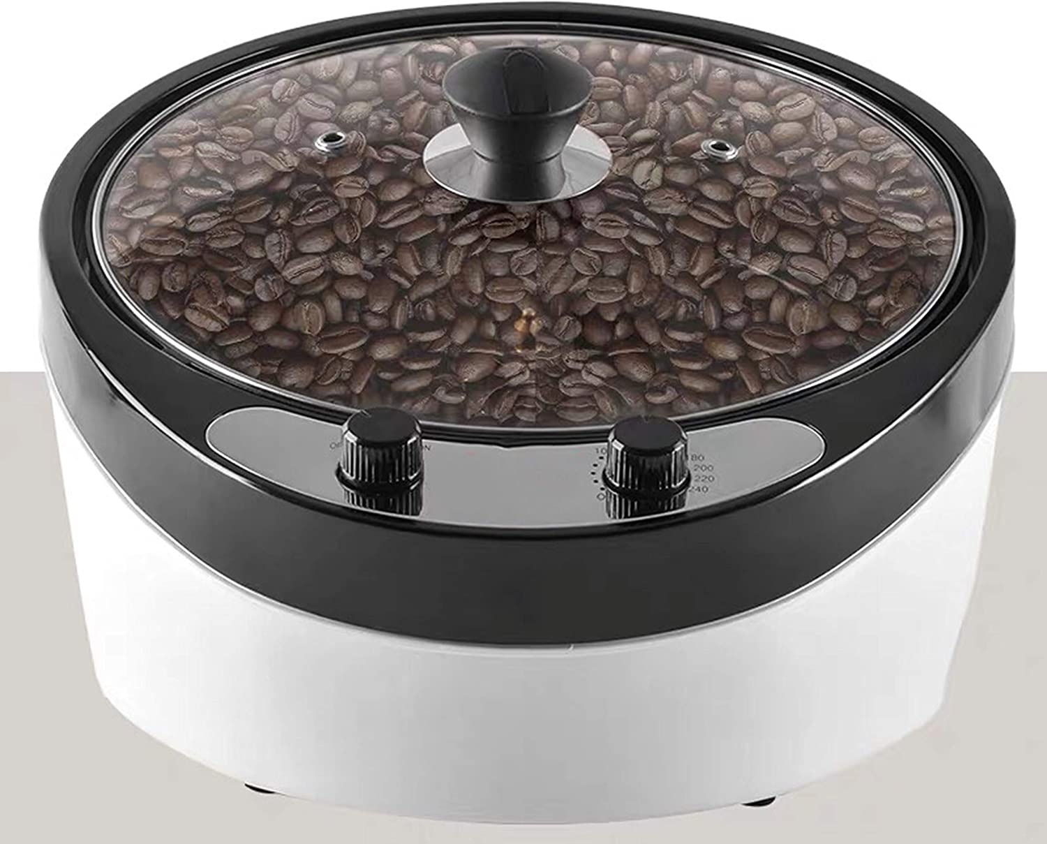 Electric Coffee Spasm price Recommended Roaster Machine Mac 0-240℃ Roasting Household