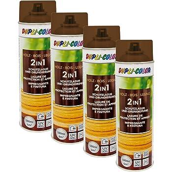 2x Dupli Color Holzschutzlasur Wasserabweisend Allwetterschutz Nussbaum Dunkel Auto