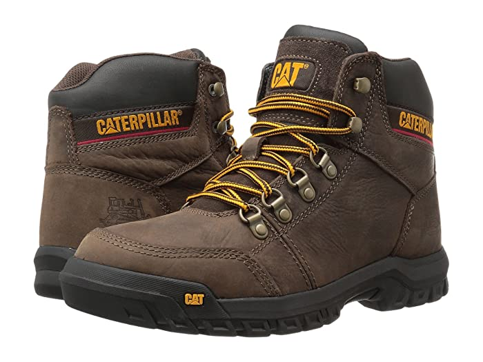 Caterpillar  Outline (Seal Brown) Mens Work Lace-up Boots