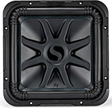 """KICKER Solo-Baric L7S 1500W 12"""" 2 Ohm DVC Sealed or Ported Square Subwoofer"""