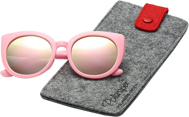 Polarspex Girls Sunglasses Outstanding - Elastic Cat Kids Max 49% OFF T Eye