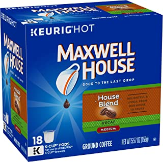 maxwell house decaf k cups