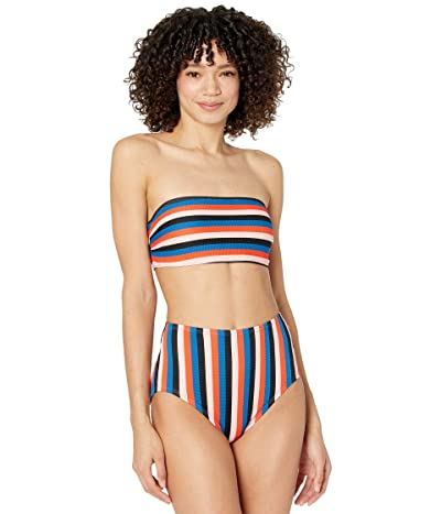 Kate Spade New York Sunset Beach Bandeau Top with Removable Soft Cups Women