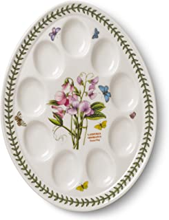 Portmeirion Botanic Garden Devilled Egg Dish 12-Inch