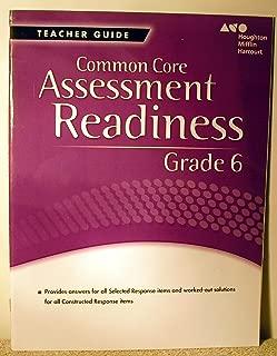 Holt McDougal Mathematics Common Core: Assessment Readiness Workbook Answer Key Grade 6