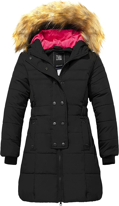 ZSHOW Girls' Long Winter Coat Puffer 5 ☆ very popular Ranking TOP9 Water Warm Parka Resistant