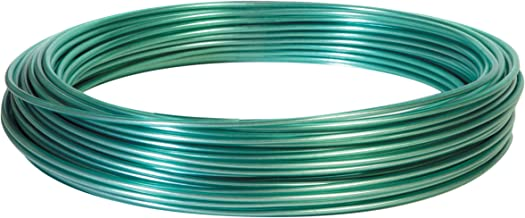 Hillman 122100 100-Feet Green Vinyl Jacketed Multi-Purpose Wire