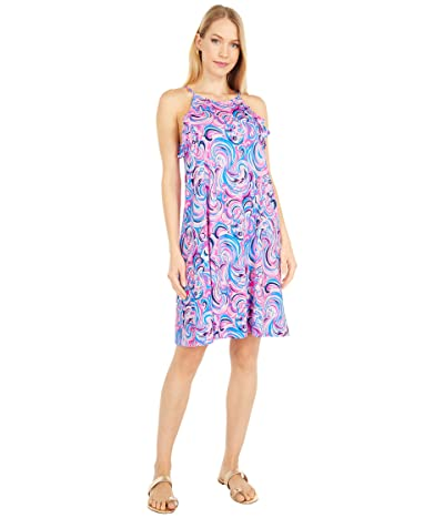 Lilly Pulitzer Billie Dress (Raz Berry Flamingoals) Women