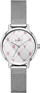 DKNY Women's Quartz Wrist Watch analog Display and Stainless Steel Strap, NY2815