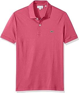 Mens Short Sleeve Pima Jersey Interlock Regular Fit Polo...