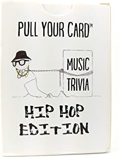 Pull Your Card Music Trivia: Hip Hop Edition | Multiple Choice Game Deck | Party Game | Game Night | Rap Trivia | Hip Hop History | Rap History |