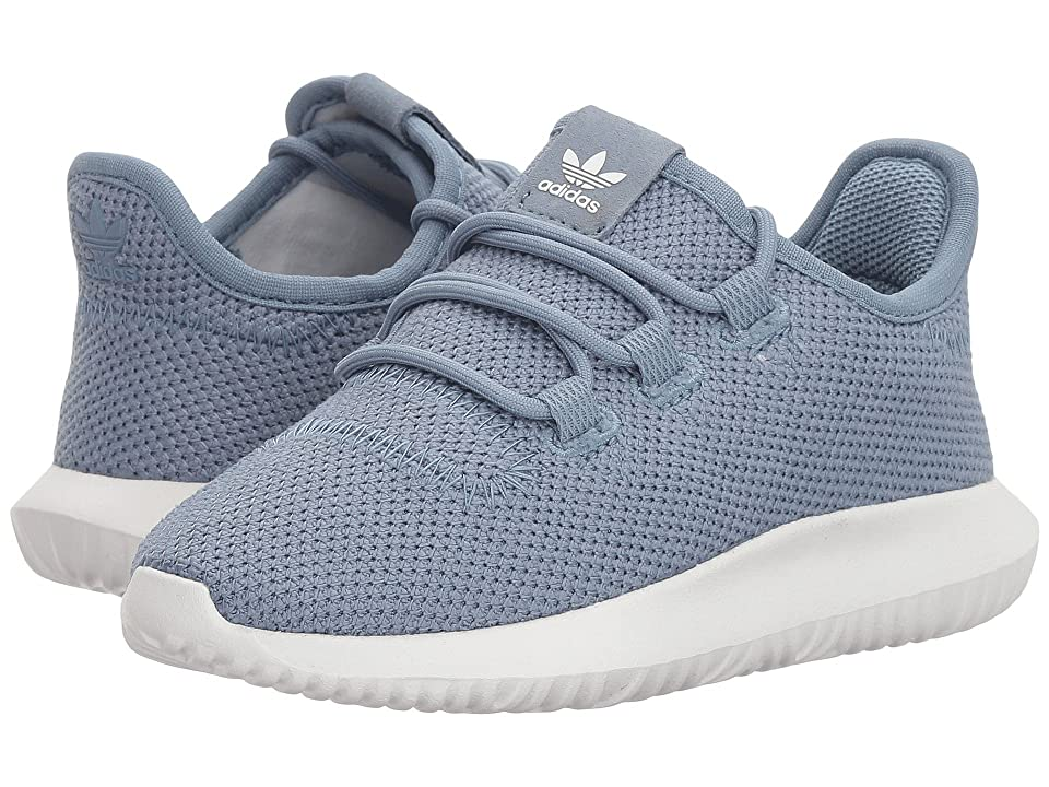 adidas Originals Kids Tubular Shadow C (Little Kid) (Raw Grey/White) Boys Shoes