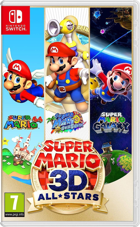 Nintendo Super Mario 3D Allstars [Edizione: UK]: Amazon.it: Videogiochi