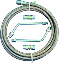 Stainless Steel Transmission Cooler Hose Kits Gm Chevy Chevrolet 350 400 700r
