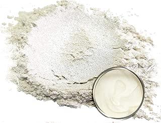 "Eye Candy Mica Powder Pigment ""Soma Bright Silver"" (50g) Multipurpose DIY Arts and Crafts Additive | Woodworking, Epoxy, Resin, Natural Bath Bombs, Paint, Soap, Nail Polish, Lip Balm"