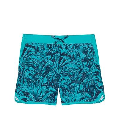 Columbia Kids Sandy Shores Boardshorts (Little Kids/Big Kids) (Tropic Water Toucanical Tonal) Girl