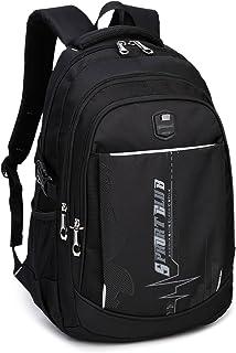 حقائب ظهر مدرسية من Goldwheat حقيبة كتب للطلاب حقيبة كتف كاجوال Daypack سفر حقيبة ظهر للأولاد في سن المراهقة