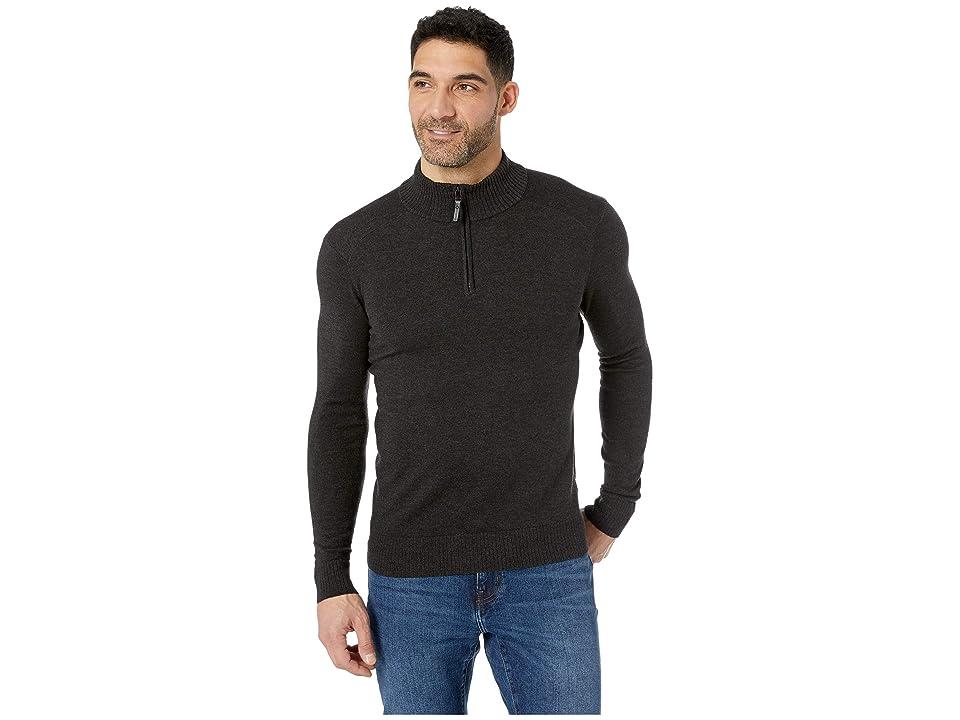 Smartwool Sparwood 1/2 Zip Sweater (Charcoal Heather) Men