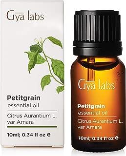 Petitgrain Essential Oil - 100% Pure Therapeutic Grade - Gya Labs - 10ml (0.34 oz)