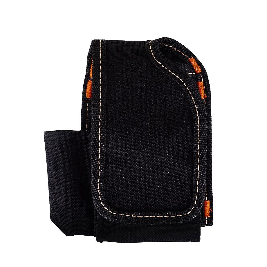 空虚相談する爆風電子タバコケース bag バッグ 喫煙具ケース vapeポーチ 丈夫な素材 耐磨耗 収納 ブラック 四ポケット 鞄 カバン かばん BAG 携帯便利 ポリエステル WOLFTEETH