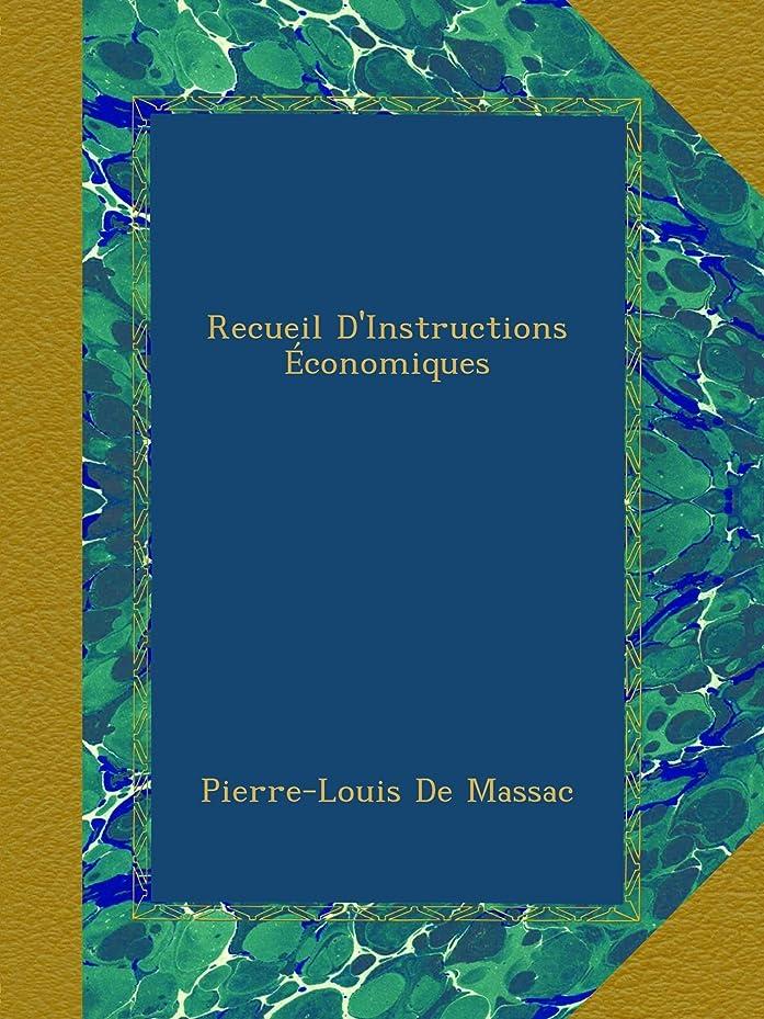 Recueil D'Instructions économiques