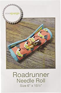 Sue Spargo Folk-Art Quilts SS893 Roadrunner Needle Roll Pattern