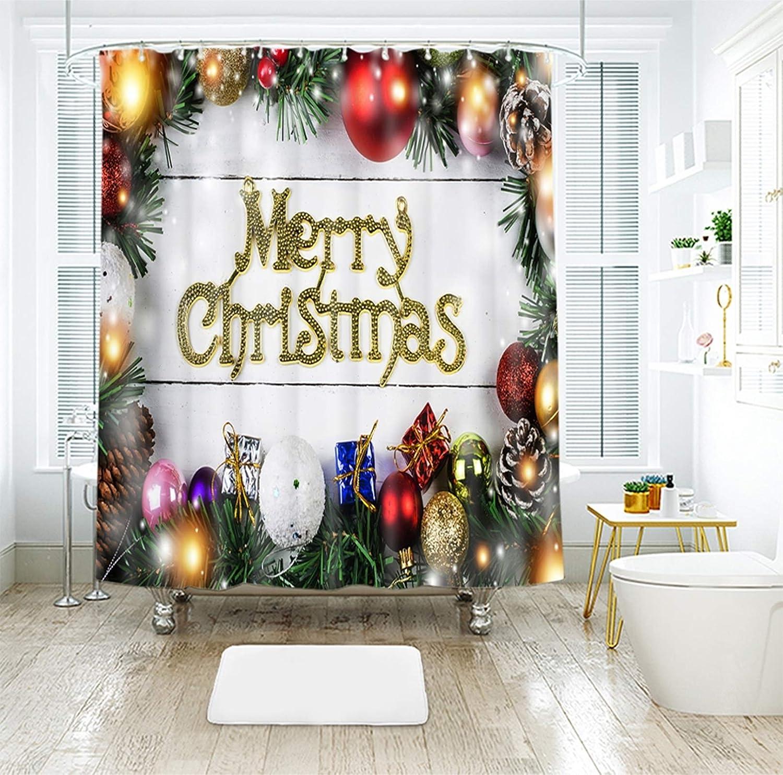Daesar Christmas Super Special SALE held Bathroom Window 78x72 supreme Curtain Bathtub Curtains