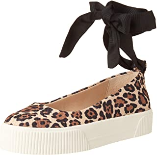 Jessica Simpson womens Elisah Sneaker, Natural, 6 US