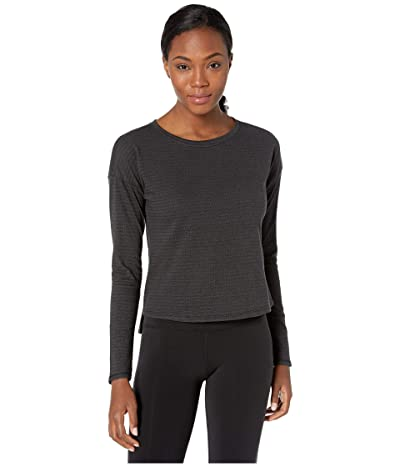 The North Face Long Sleeve Emerine Top (TNF Black Desert Stripe) Women