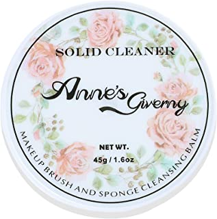 Anne's Giverny Makeup Brush Solid Cleaner Sponge Blender Cleanser Blending Cleaning Balm Cleaner for Make up Brushes