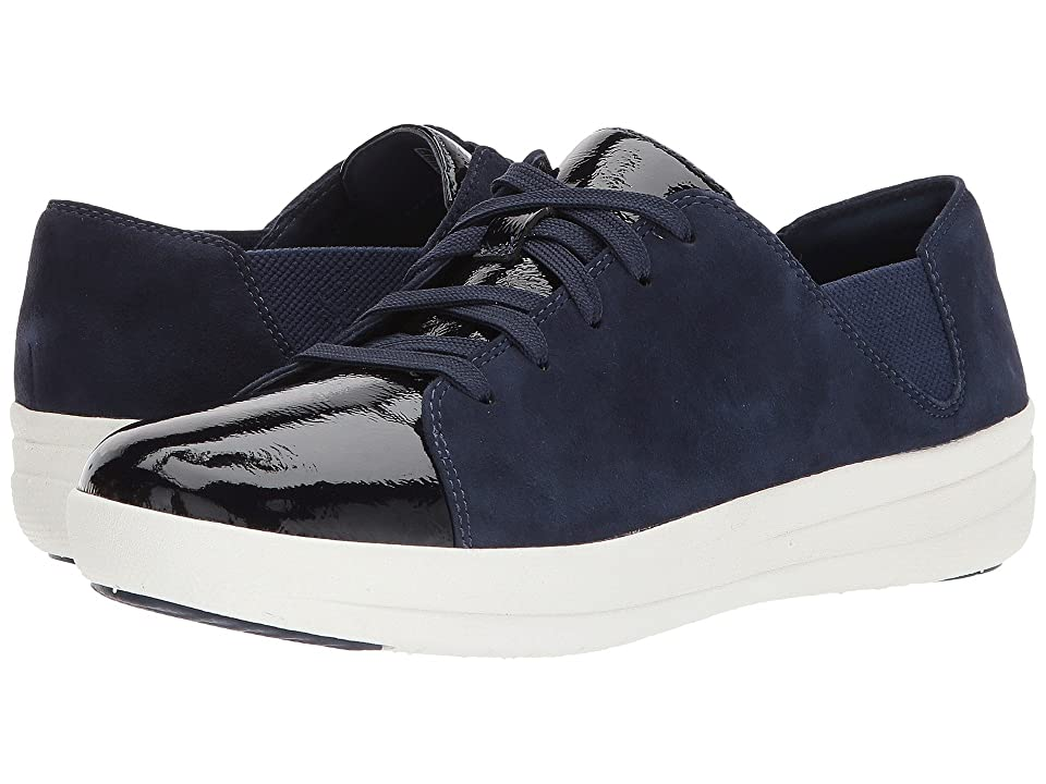 FitFlop F-Sporty Lace-Up Sneaker (Midnight Navy Mix) Women