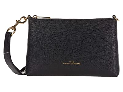 Marc Jacobs The Swifty Crossbody (Black) Handbags