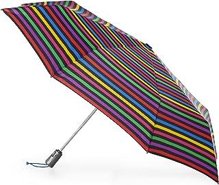 Colorful Lemon Flower fashion print cute Windproof automatic tri-fold umbrella sun UV protection Sun umbrella